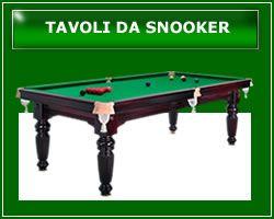 Tavoli da Snooker